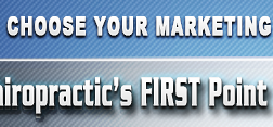 Chiropractic's FIRST Point and Click Marketing Plan Generator!